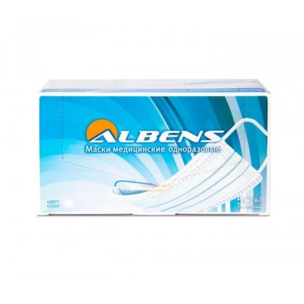 Маски защитные медицинские Albens