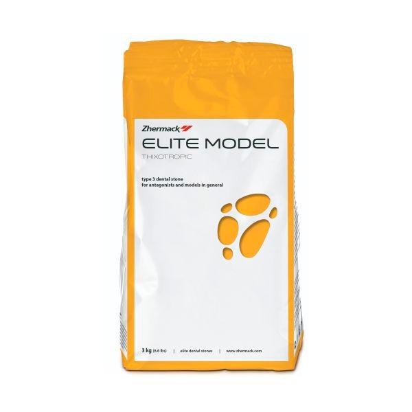 Гипс Elite Model Fast III класса белый 3 кг