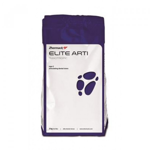 Гипс Elite Arti III класса бел...