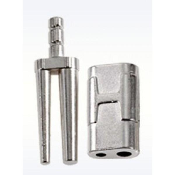 Би-пины со втулками длинные Bi-V-Pin HS никелированные